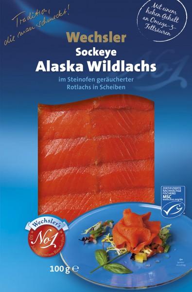 Wechsler Sockeye Alaska Wildlachs