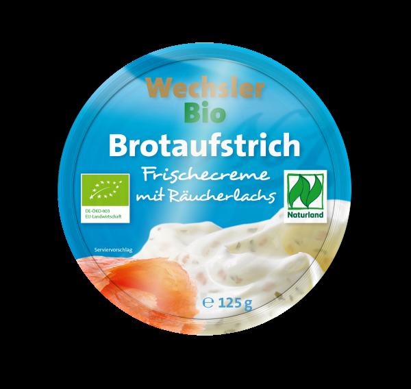 Bio Brotaufstrich mit Räucherlachs