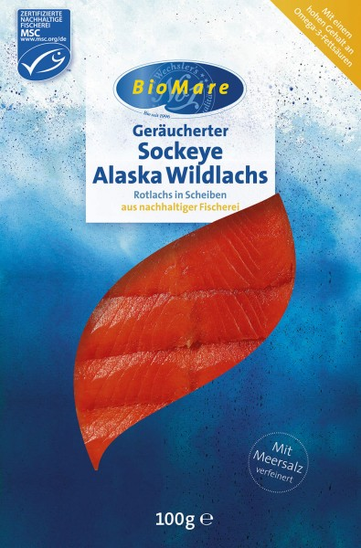 BioMare Sockeye Alaska Wildlachs