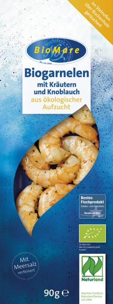 BioMare Bio-Garnelen Kräuter-Knoblauch